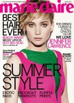 jennifer Lawrence Marie Claire cover
