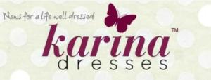 CLICK ON THE KARINA DRESSES LOGO TO ENTER THE RAFFLE!